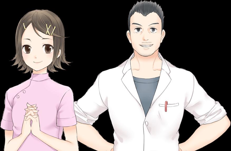 二宮 柔と加納 吾郎